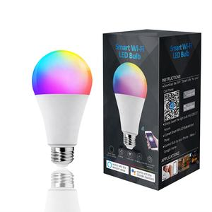 Fabriek Directe Verkoop 9W Smart Wifi Led Lamp Rgbw Werken Met Alexa Google Assistent