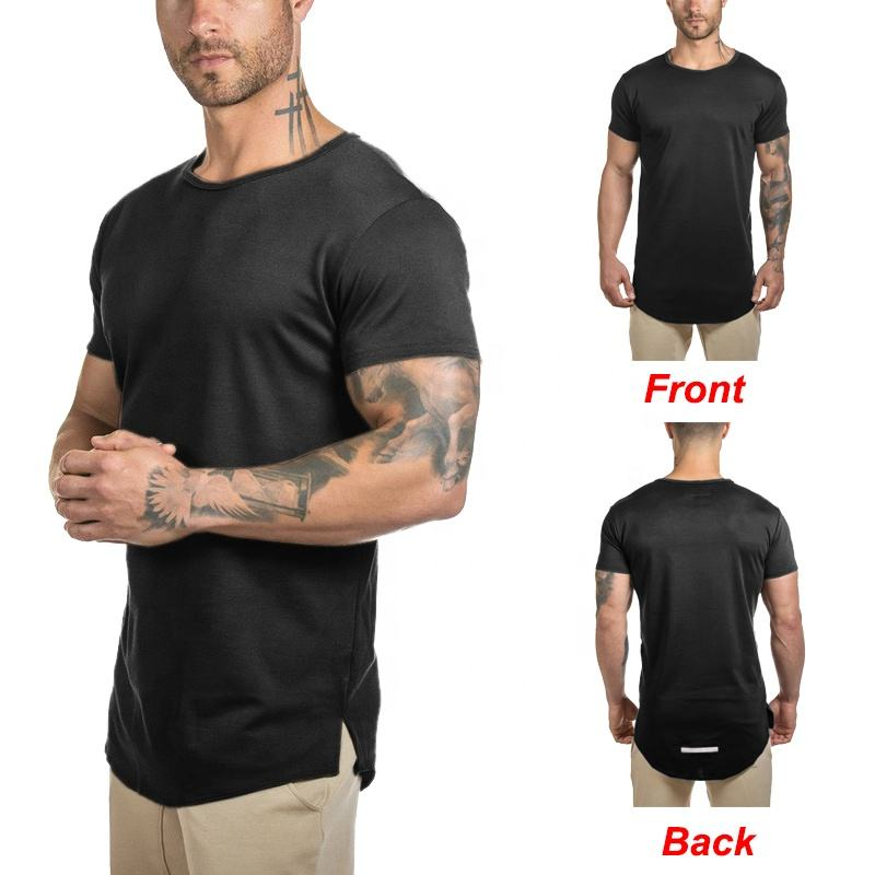 Großhandel custom spandex muscle dry fit laufen fitness workout sport gym t-shirt t shirt männer