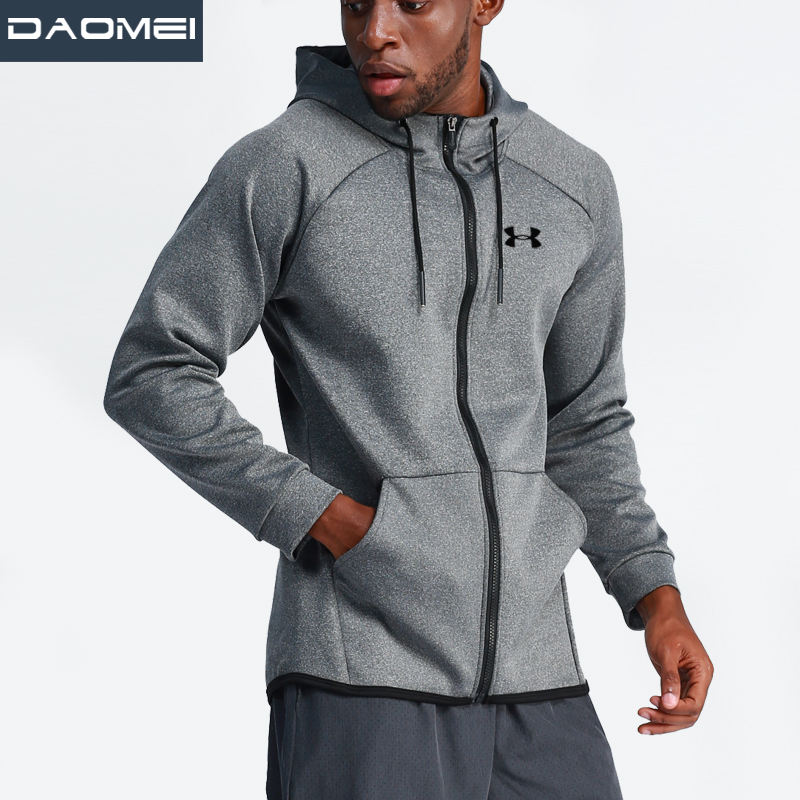 New product custom men's jackets gym wearing sport training running Hoodie tracksuits jacket