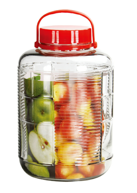 Wholesale many sizes glass jar for Kitchen Food Storage Glass Jar Sealed multipurpose Jar