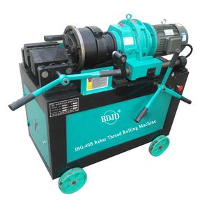 Good quality Rebar Thread Rolling Machine | Bar threading machine rolling JBG-40D