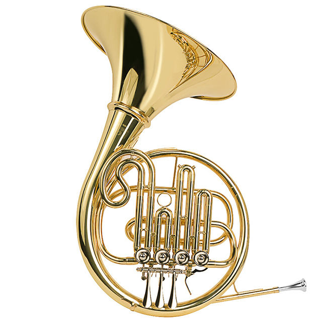 JinBao JBFH-700 Single Key of F/Bb Brass French Horn