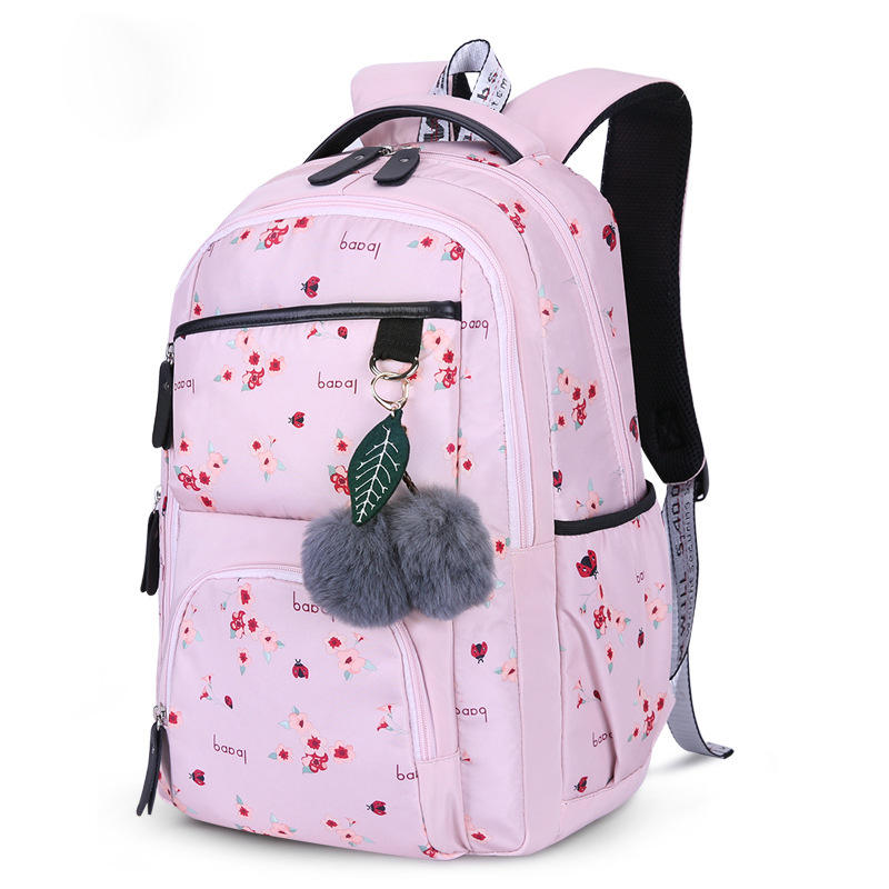 Newest style and fashionable school backpacks women backpacks for female students holding laptop