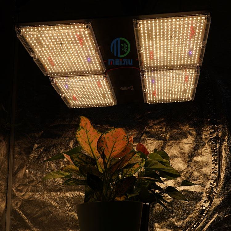 Meijiu Novedades QB288 V4 Lm301b UV IR 480W Full Spectrum 660 730 395 Led Grow Light For Indoor Plants