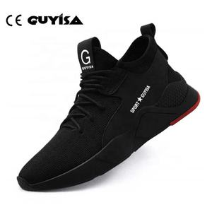 GUYISA 15 Days OEM CE Light Brand Safety Shoes Men Women Manufacturers Waterproof Composite Steel Toe Safety Shoes safety