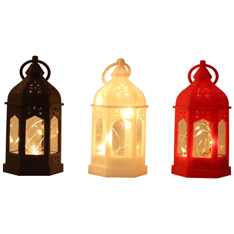 Moroccan Decorative Hanging Lantern Vintage Style Hanging string lights lanterns Mini size wedding festival decorations