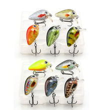 Mini Crankbaits Fishing Lures 1.8g 3cm 5pcs Cranks Wobblers Sets of Lures Hard Floating Kit Artificial Fishing Bait Pike