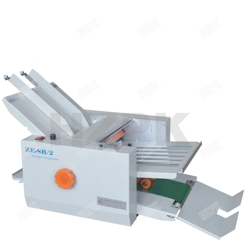 HZPK Folding Machine Type ZE-8B/2 Auto Paper Folding Machine