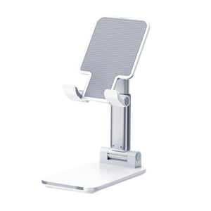 Aluminum mobile phone holder fixed desktop desk stand lazy table phone holder For iPhone for ipad