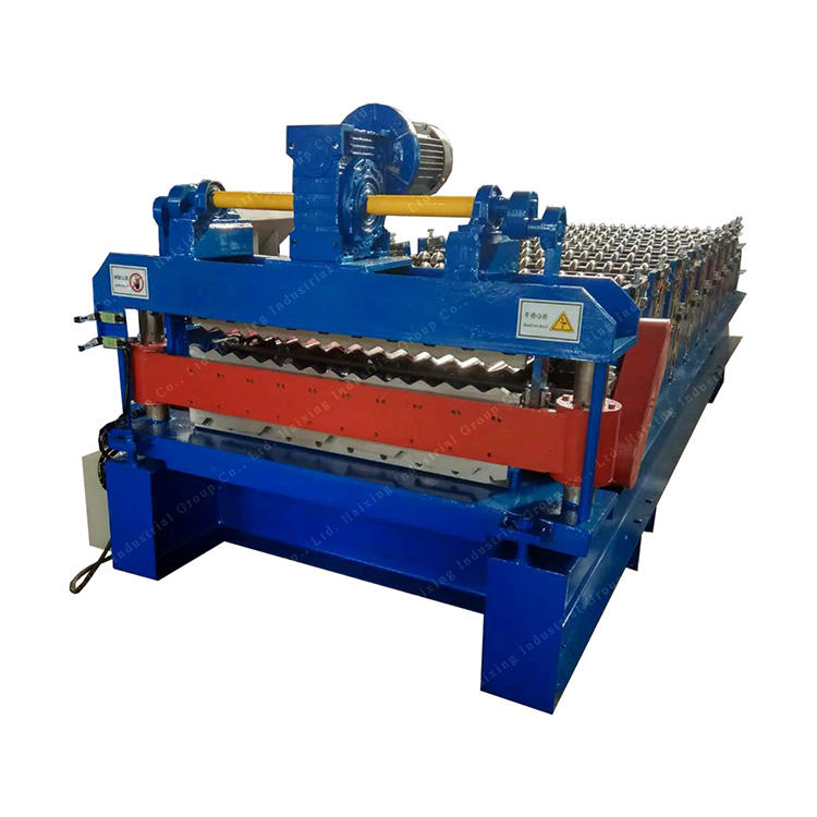 corrugated iron sheet roofing tile making roll forming machine
