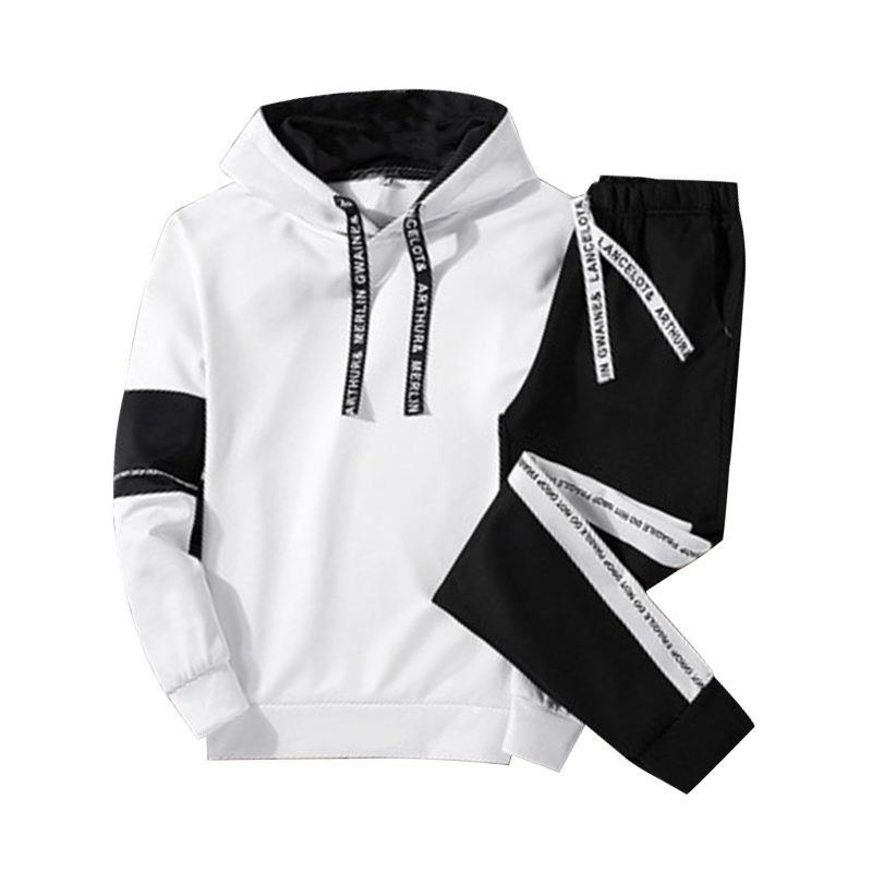 wholesale hoodie set men New design popular quality customized heavyweight