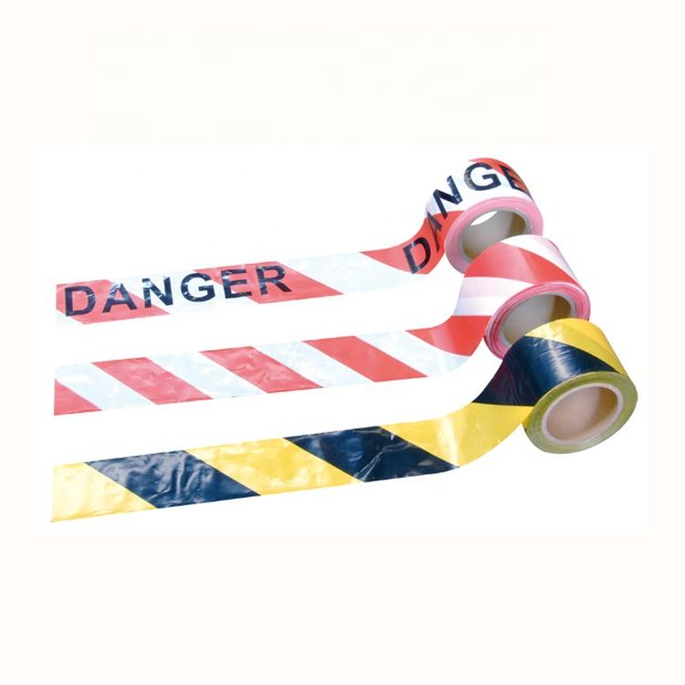 "Manufacture Free in Stock Custom Printed Red White ""Danger"" PE Warning Tape for Selling"