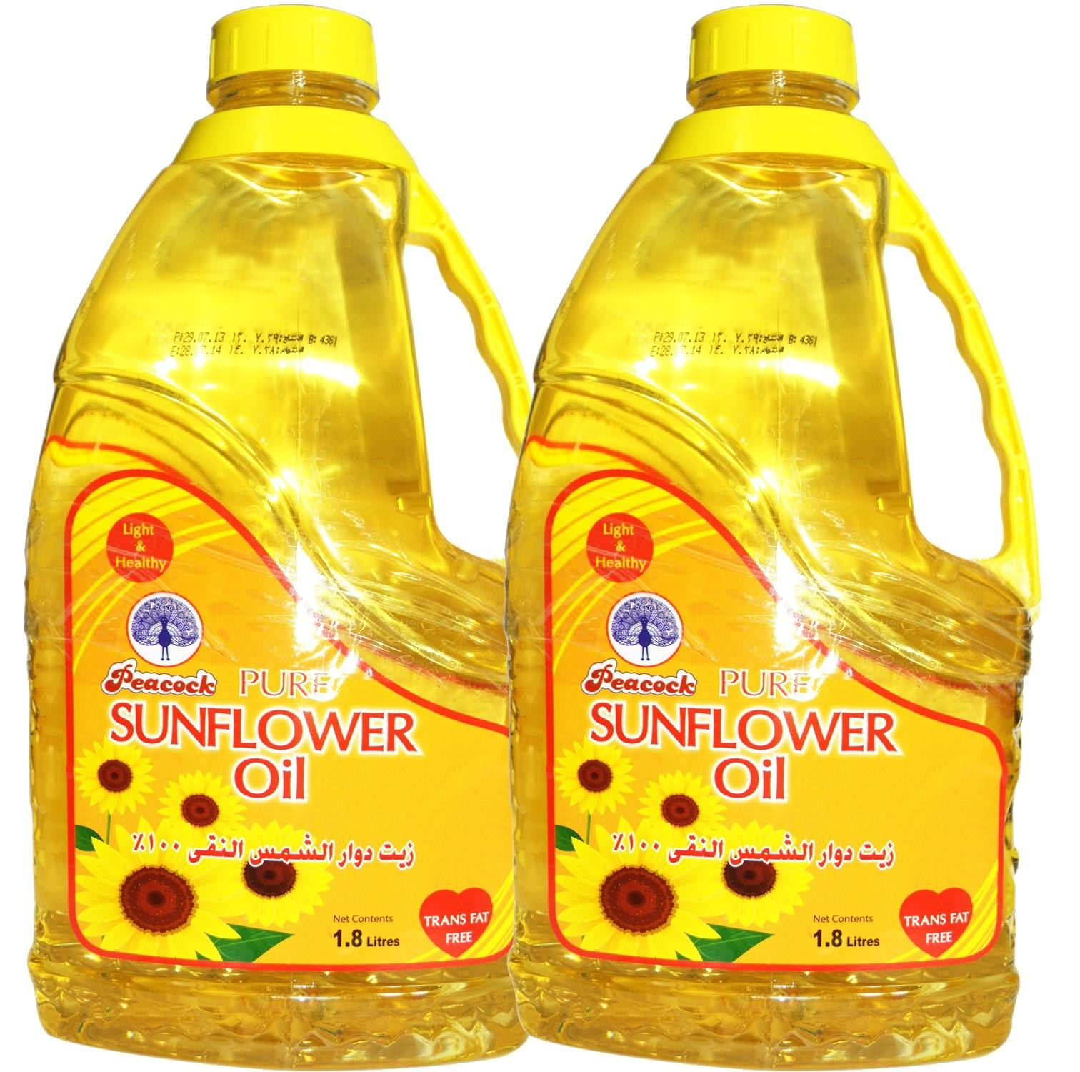1 L 100% Refined Deodorized Winterized Cooking Sunflower Oil