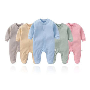 Comfortable Unisex Newborn Boy Clothes Cotton Baby Bodysuit Sleeve Romper