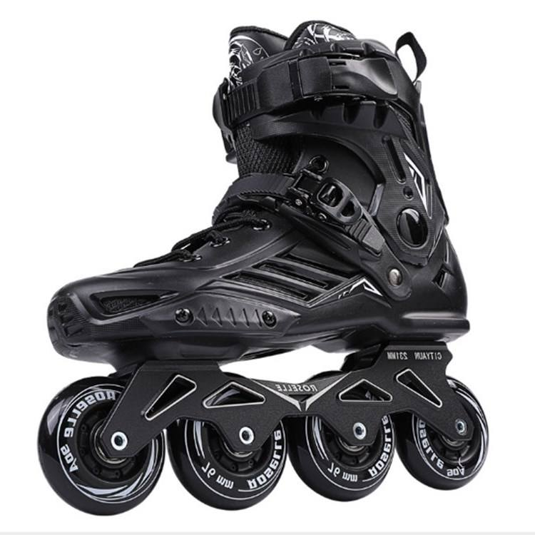 Adjustable Professional Brush Street Sport Skating Adult Inline Roller Skating Shoes