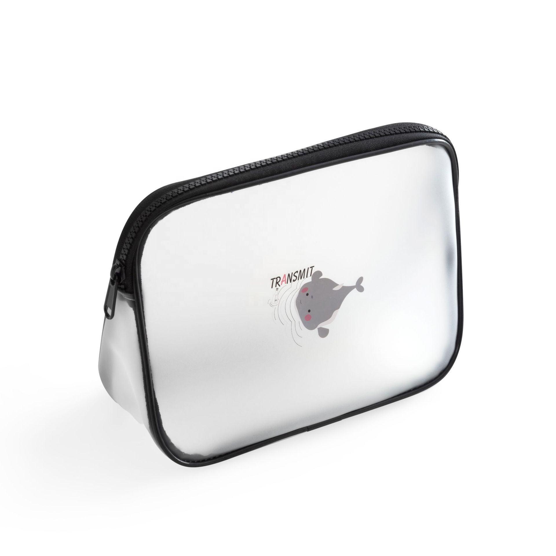 Unique Imperméable À L'eau Transparent PVC Sac De Maquillage EN PVC Transparent Pour Hommes Suspendus toilette sac cosmétique