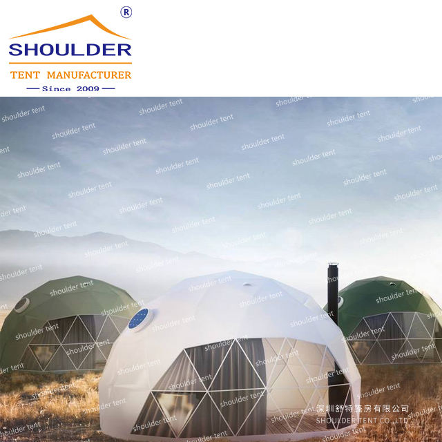 Best selling geodesic dome tent for hotel