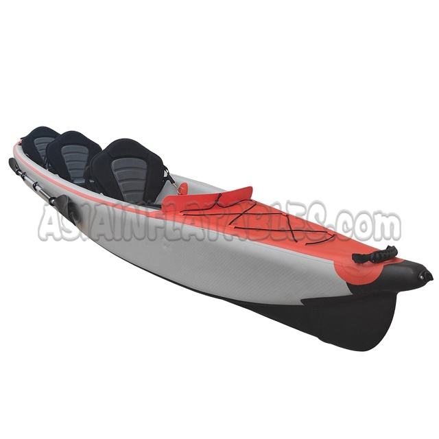 Ocean Sea Inflatable Double 2 Person Fishing Paddle Kayak Manufacturer PVC Double Layer inflatable kayaks