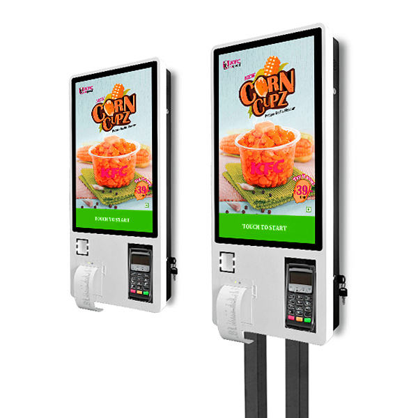 Manufacturers Custom restaurant 24 inch self service ordering electricity online touch screen payment touchsceen kiosk Price