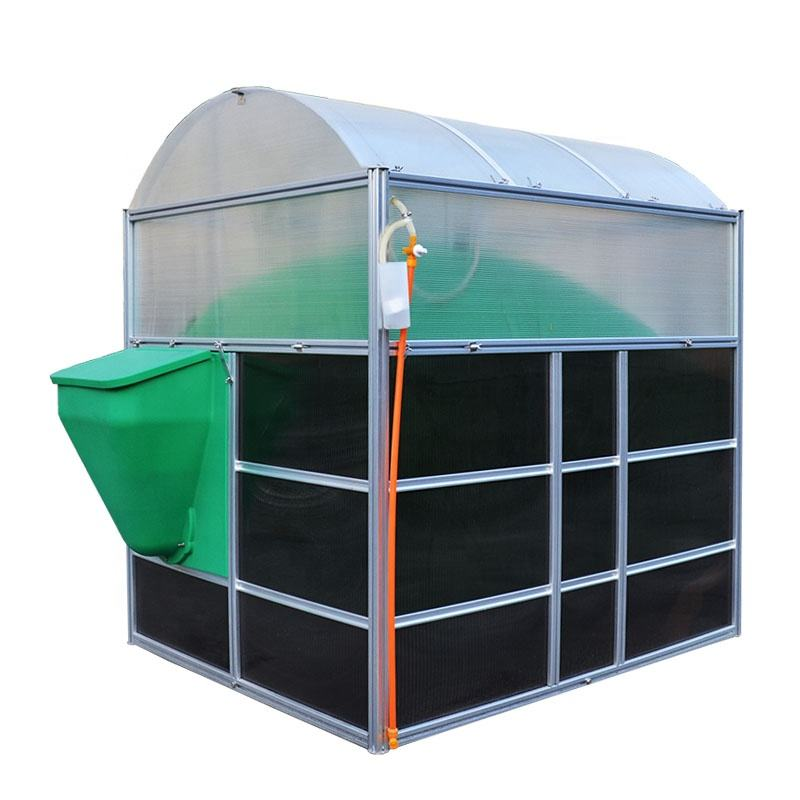 3m3/5m3/10m3 Biogas digester biogas plant for turning food waste&farm waste into cooking fuel& electricity&fertilizer