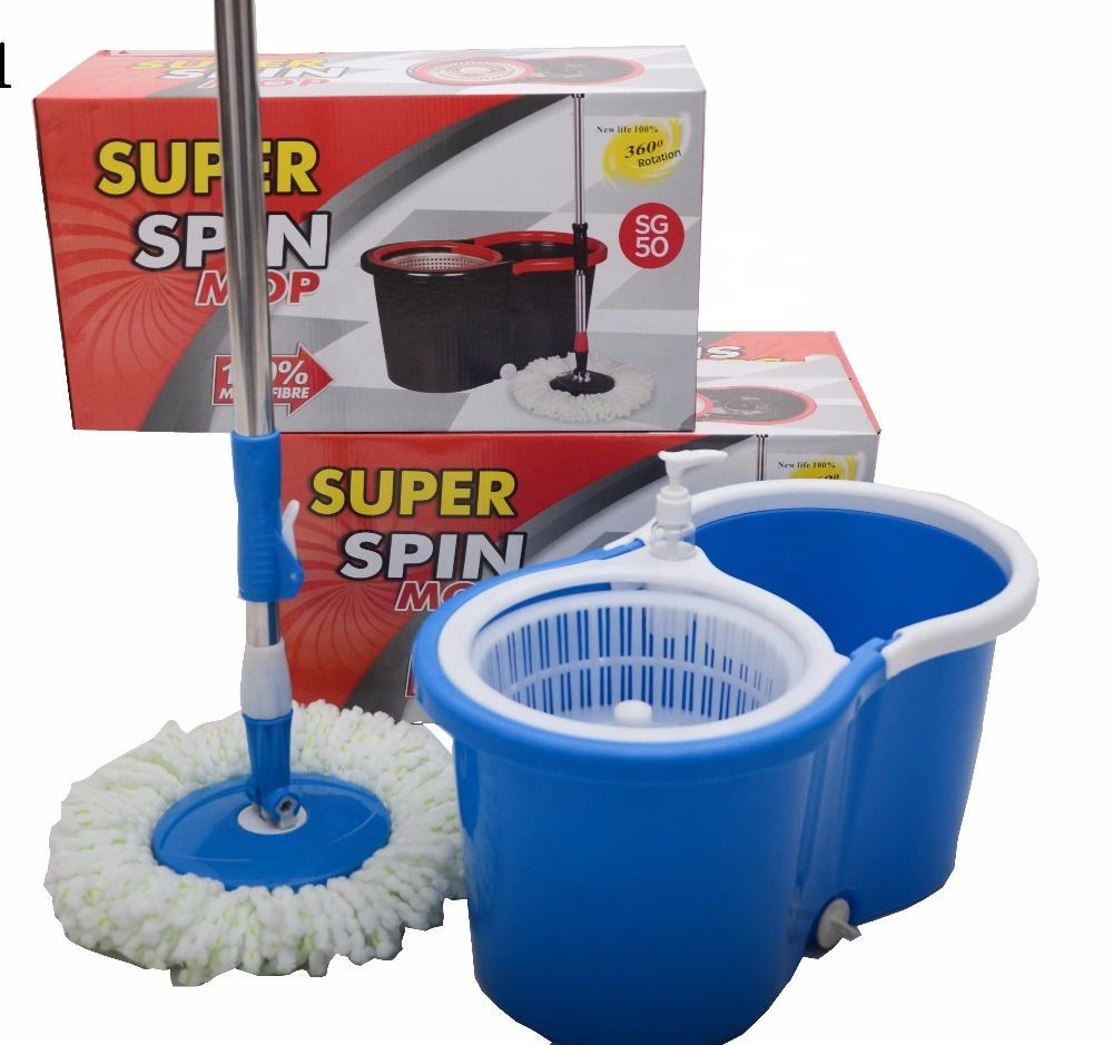 Factory supply cheap price high quality magic 360 spin mop with long telescopic handle