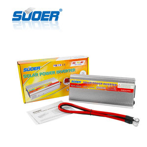 Suoer DC 12v AC 220v 2000W Modified Sine Wave 2kw Solar Power Inverter