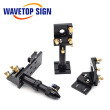 WaveTopSign CO2 Laser Head Set / Reflect Mirror & Focus Lens Integrative Fixture Mount Holder