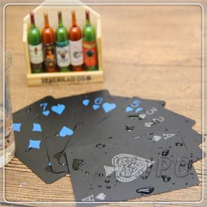 WJPC-High Quality Casino Plastic Playing Cards Deck Of Cards Custom Plastic Card Deck