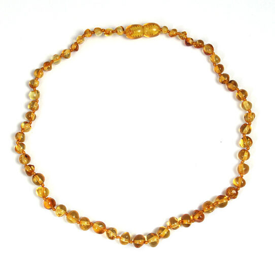 JOJO Wholesale Fashion High Quality Popular Real Baltic Amber Teething Necklaces For Babies