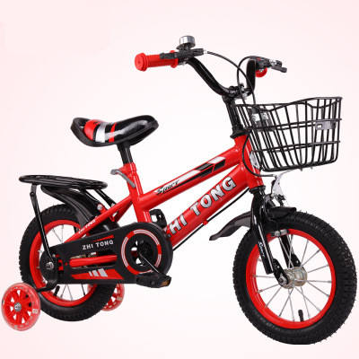 Wholesale Cheap 14inch Kids Bicycle For 10 Years Old Children with training wheel good baby bottle could