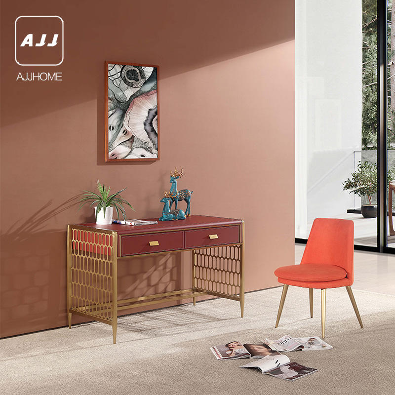 AJJ Italian minimalist villa clubhouse model room hotel engineering furniture living room entrance cabinet dressing table FG78A