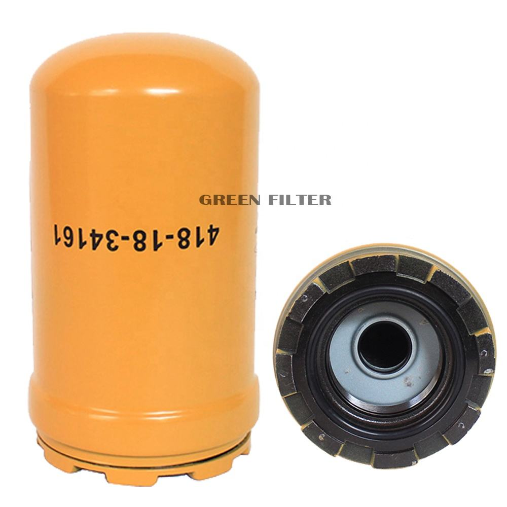GreenFilter-High Quality Hydraulic Oil Filter use For Komatsu Excavator 418-18-34161
