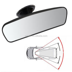 Full sight Car Rear Mirror Interior Rear View Mirror With PVC Sucker Wide-angle Rearview Mirror Auto Convex Curve