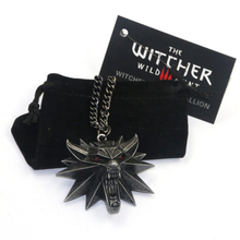 Wholesale Witcher 3 Wild Hunt Game Design Men Wolf Necklace