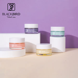 Build Your Brand Oem Private Label Organic Make Up Face Cleansing Balm Facial Cleanser