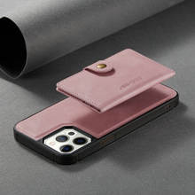 New Design For Iphone 12 Case Leather,Metal Button Flip Cover for iPhone 12,Zipper Phone Case for Iphone 12 7 8 Xs XR 11 pro Max