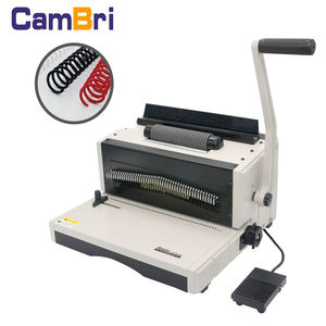MC8702 A3 Ukuran Spiral Coil Binding Machine