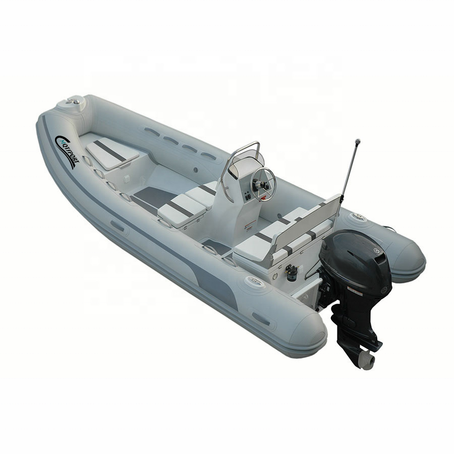 High quality Speed Sports Alu Rib Boat Aluminum Fishing Boat Rigid Inflatable Boat Aluminum
