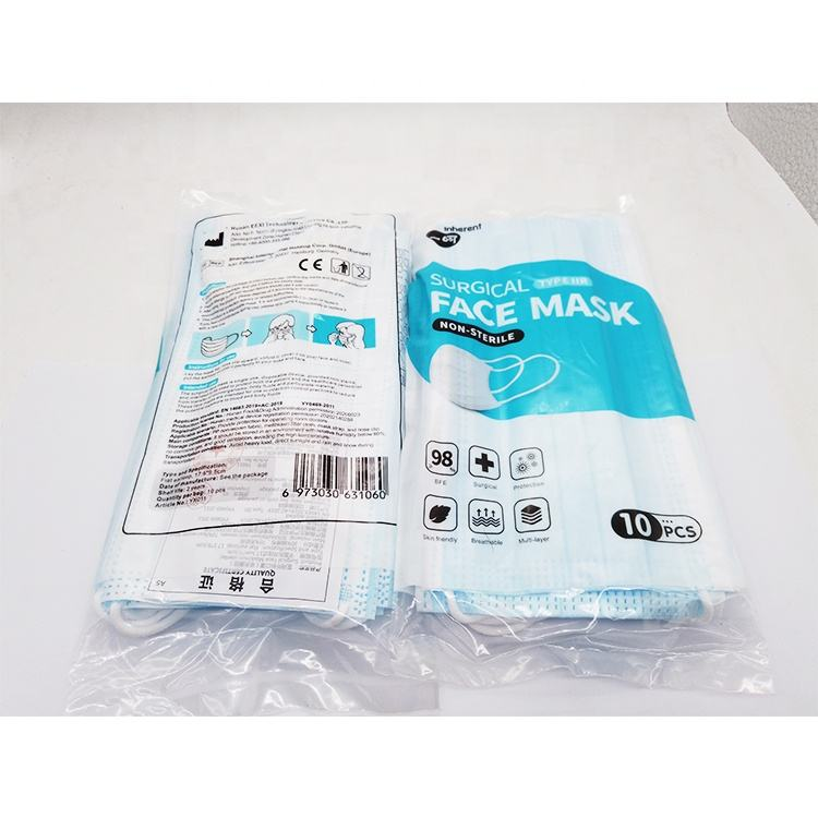 bfe 98 3 ply nonwoven disposable surgical face mask medical surgical face mask in stock