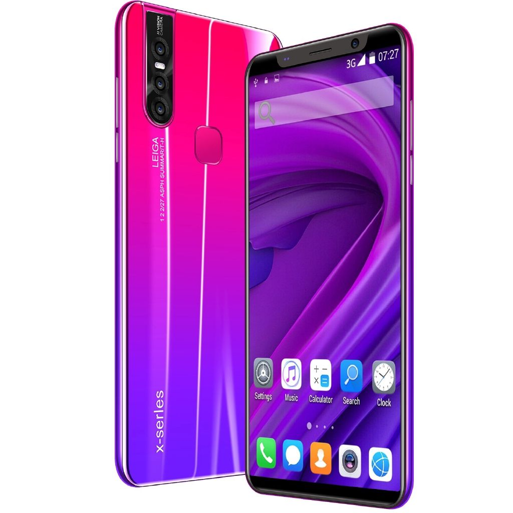 Hot Selling X27 Plus Unlocked 8 + 16メガピクセル8 Core X27Plus Dual SIM 4G + 64G Cheap Smart Phone 5.8インチAndroid 8.0 Mobile SmartPhones