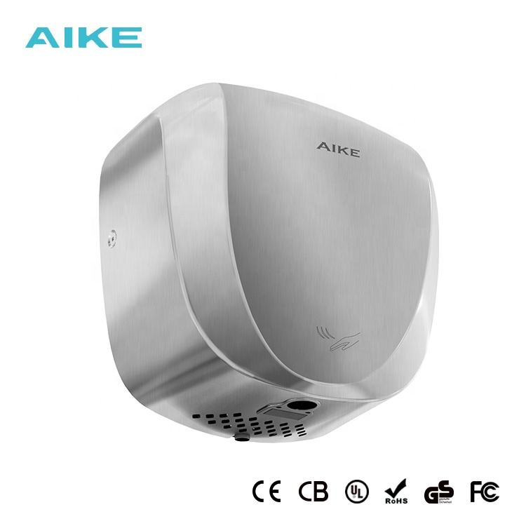 Gs [ China Hand Dryer Dryers ] Hand Dryer Factory AK2901 China Factory Hand Dryer Manufacturer AIKE Automatic Stainless Steel Professional Hand Dryers With HEPA