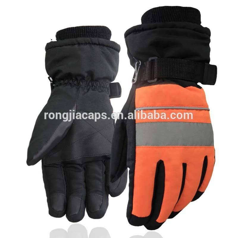 3M thinsulate reflective driving windproof ski gloves