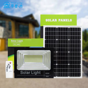 High efficiency easy installation panel price 20w 30w 50w 100w dusk to dawn energy system cctv camera LED solar flood light