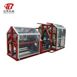 Plastic 3 strand cotton rope machine