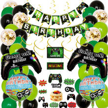 Nicro Boys Birthday Game On Controller Video Game Party Decoration Supplies