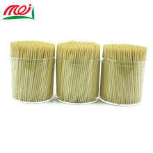 China supplier manufacture eco friendly wholesale two side point biodegradable bottle bamboo toothpick