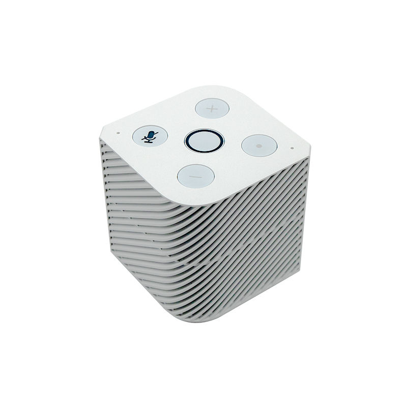 Professional Mini Portable Bluetooth Wireless Smart Speaker Zigbee Hub with alexa skill