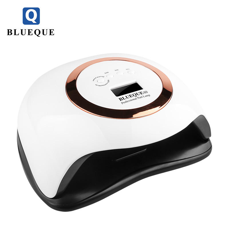 BLUEQUE 2021 new arrivals high power 168w nail lamp Factory direct supply uv led lamp nail dryer light