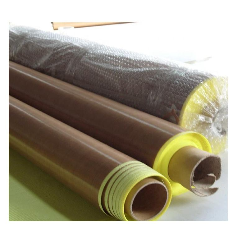 -60 Cto 260C Standing Temperature ptfe coated glass fabric with glue