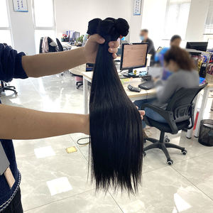 Fast Shipping Extensiones De Cabello Humano Humanasผู้ค้าส่งหนาสูงปลายVirgin Hair Hair Extension